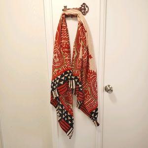 Beautiful patterned lightweight summer scarf!
